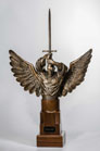 Provider Angel of God sculpture